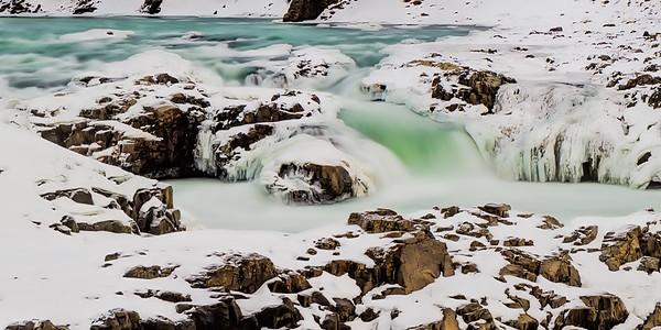 Frozen Urridafoss