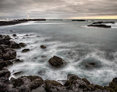 Malariff Lighthouse Iceland