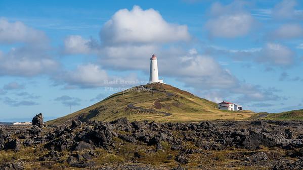 Reykjanesvíti Lighthouse, Reykjanes Peninsula, Iceland