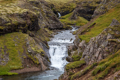 Breiðdalsàfoss, Vattarnesvegur