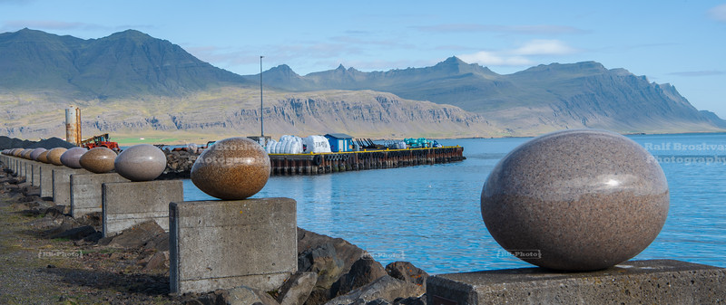 The Eggs at Merry Bay in Djúpivogur, East Iceland