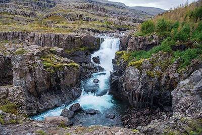 Sveinstekksfoss waterfall in Eastern Iceland