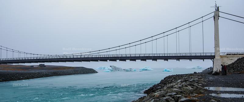 Breiðamerkursandur, also called the ice Diamond Beach, in southeast Iceland,