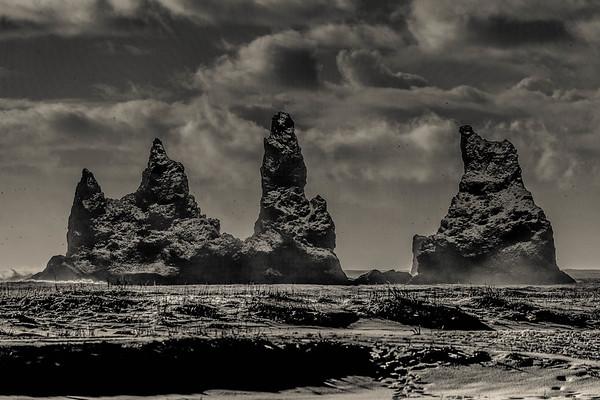 Iceland Black + White