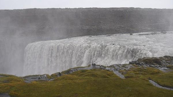 Dettifoss Waterfall in Northeast Iceland