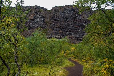 Ásbyrgi in Northern Iceland