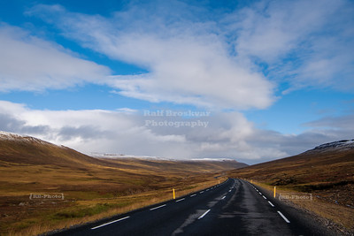 On route 85 in Northeast Iceland