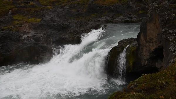 Geitafoss waterfall of the Skjálfandafljót river in northern Iceland