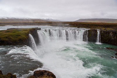 Goðafoss waterfall in the Northwest Region of Iceland