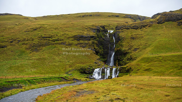 Gluggafoss Waterfall in South Iceland