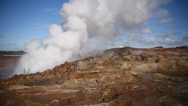 Gunnuhver Steam Vent at Gunnuhver Geothermal Area