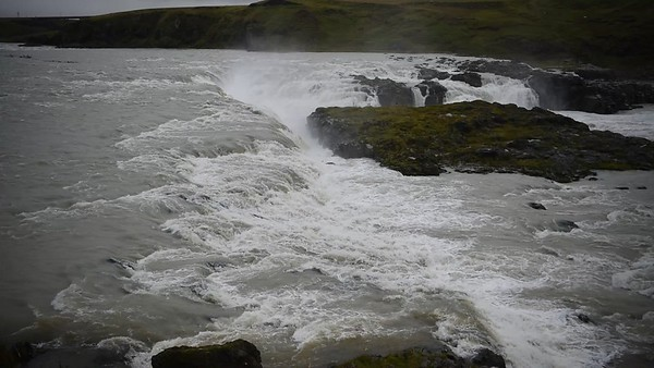 Urriðafoss Waterfall in Southern Iceland