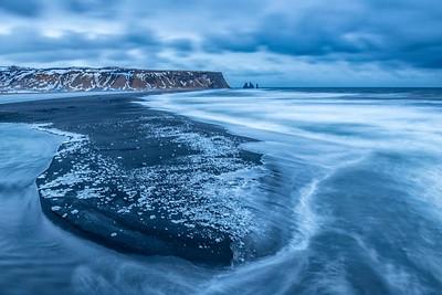 Incoming tide, Vik