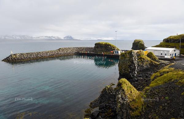 Arnarstapi Harbor on Snæfellsnes peninsula in West Iceland