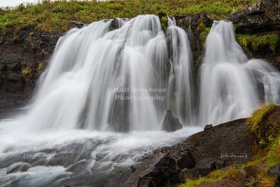 Fossárrétt Waterfall in West Iceland