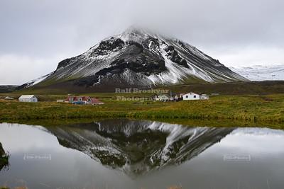 Mount Stapafell on Snæfellsnes Peninsula, Iceland