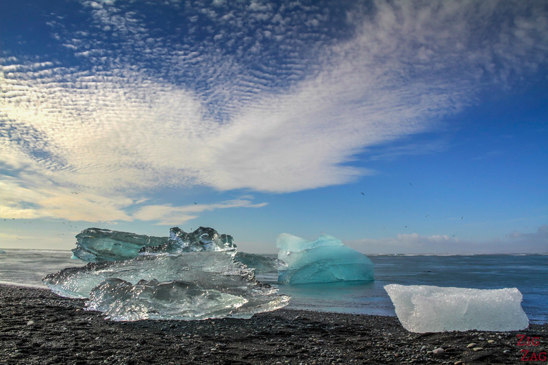 Islande en Photos -  icebergs