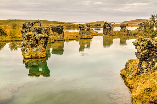 Attractions Lake Myvatn Iceland - Hofdi