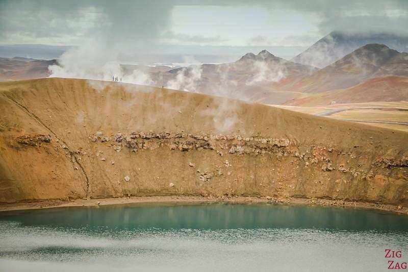 Cratère de Krafla Viti Islande 2