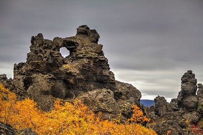 one week in Iceland itinerary - Dimmuborgir