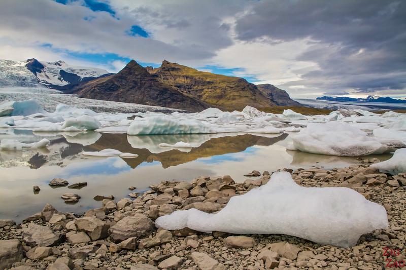Le Lagon glaciaire de Fjallsarlon Islande