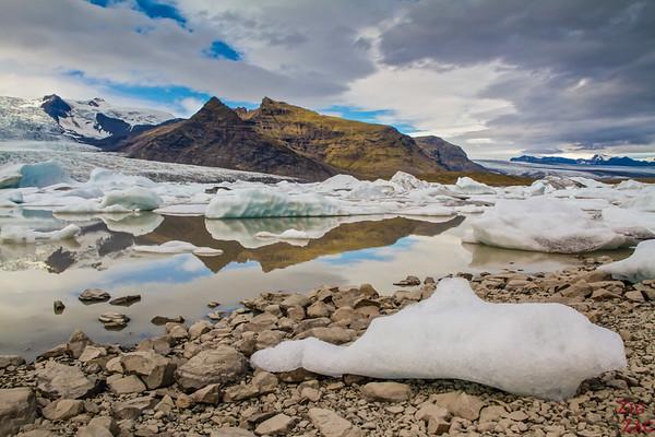 Sud Islande lieux d intérêt - Lagon de Fjallsarlon Islande - Fjallsarlon Lagon Glaciaire 2