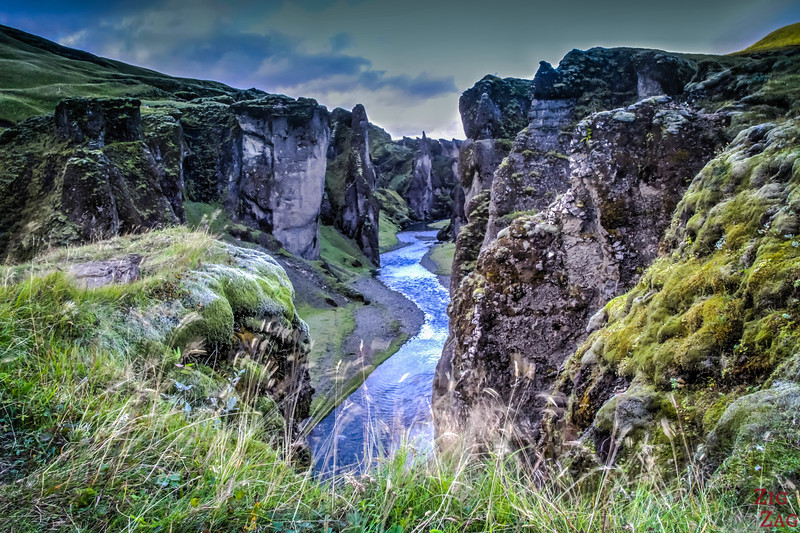Fjadrargljufur canyon Iceland photo 1