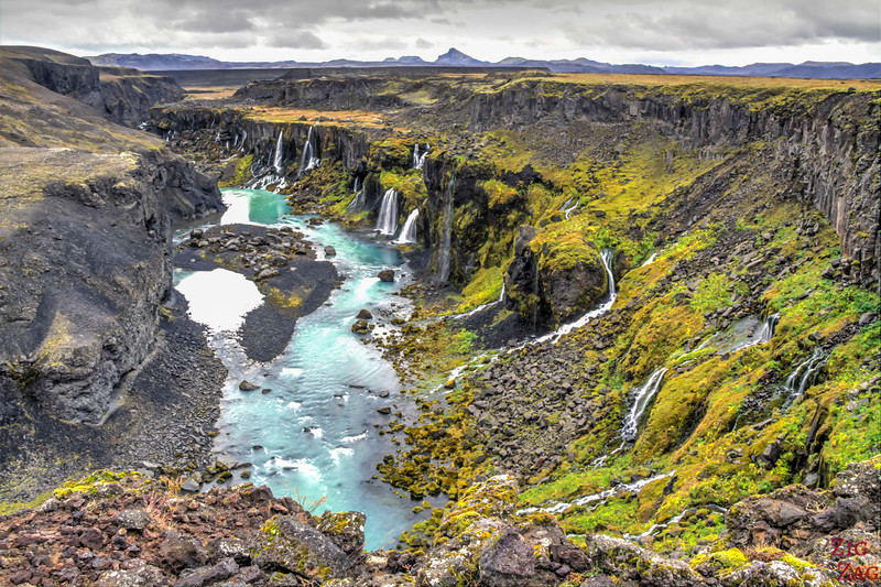 Sigoldugljufur canyon, Iceland Photo 2