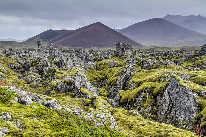 Off the beaten track on the Snaefellsnes Peninsula Iceland - Berserkjahraun