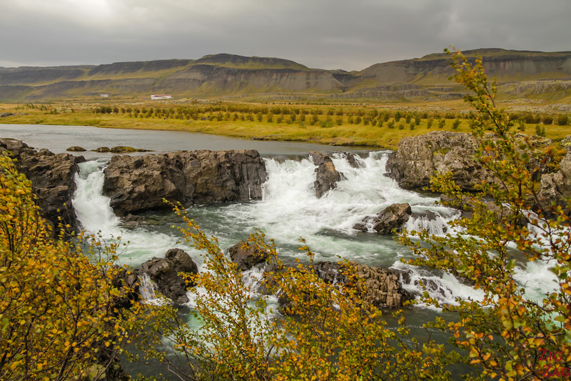Islande en Photos - Glanni cascade