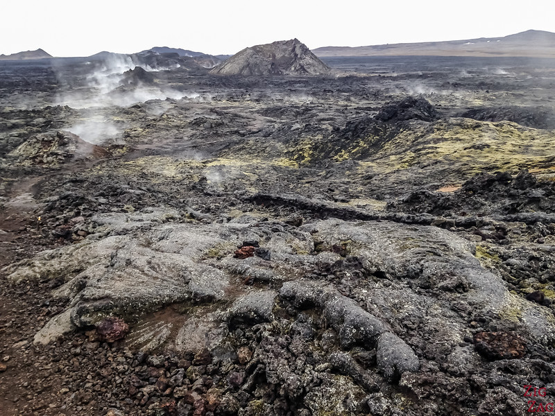 Leirhnjukur - an active lava field (still fuming)