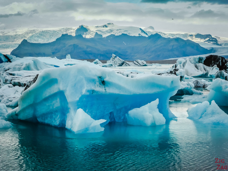 on the Ring road: Jokulsarlon Lagoon, Iceland