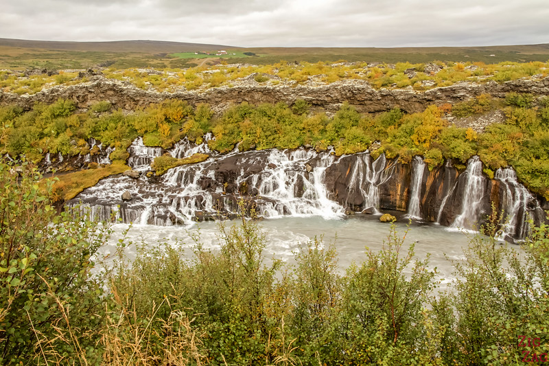 Pictures of Iceland - Hraunfossar photos
