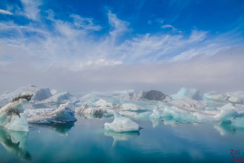 Photos Islande - Jokulsarlon ciel bleu