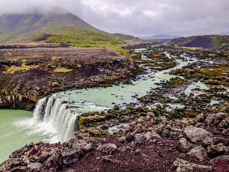 Thjofafoss waterfall Iceland