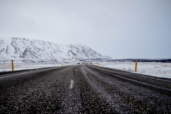 Driving around Iceland in Winter
