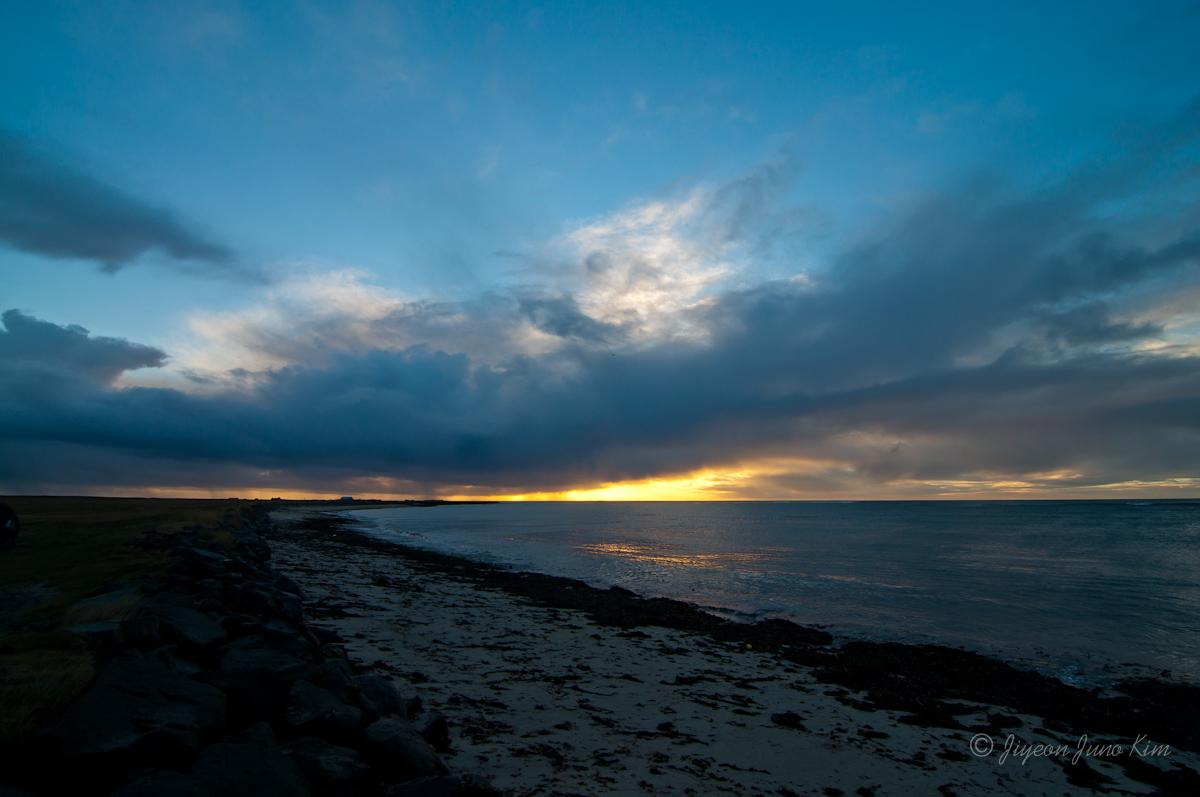Shore at Reykjanes Peninsula