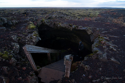 Lava tube in the middle of no where