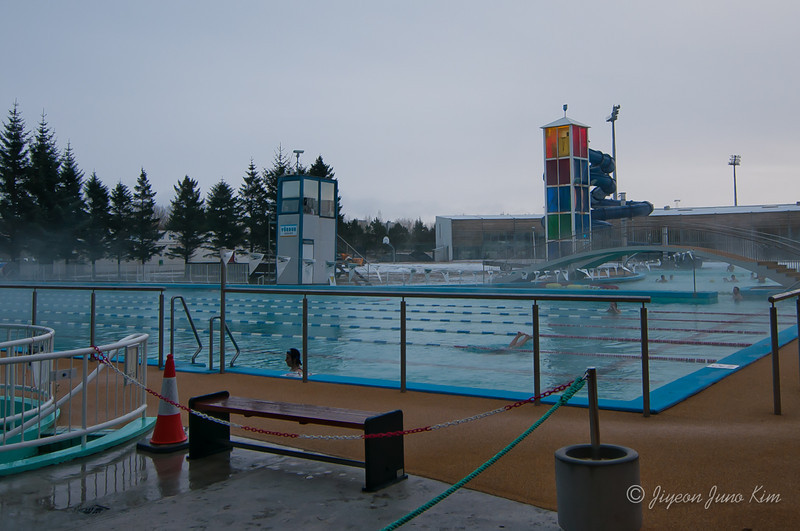 Iceland swimming pool