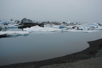 Jökulsárlón ( southern Iceland )