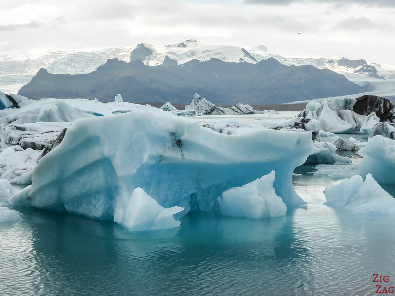 Icebergs at Jokulsarlon lagoon photo 1