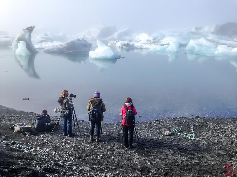 Photographier Jokulsarlon Islande 1