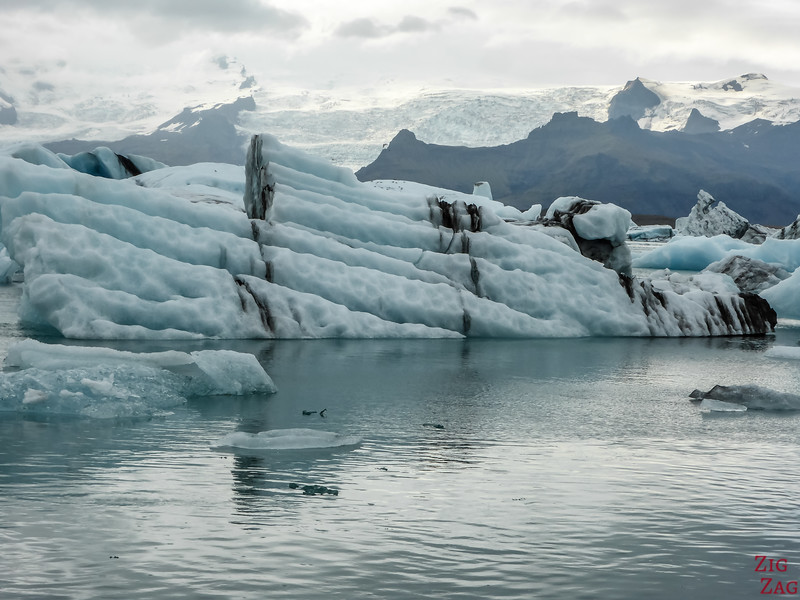 Icebergs at Jokulsarlon lagoon photo 4