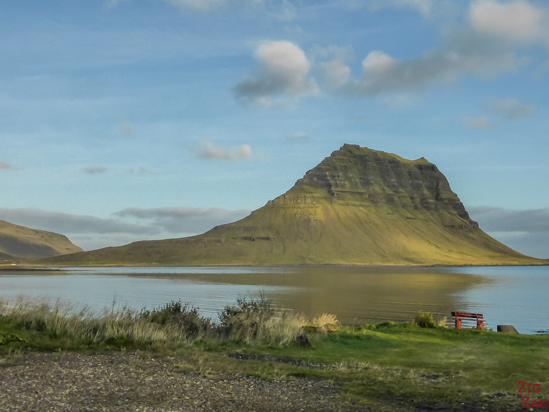 Mountain Kirkjufell Iceland - best view
