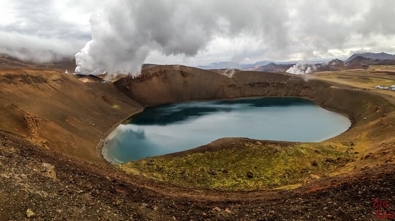 Krafla visit, Islande