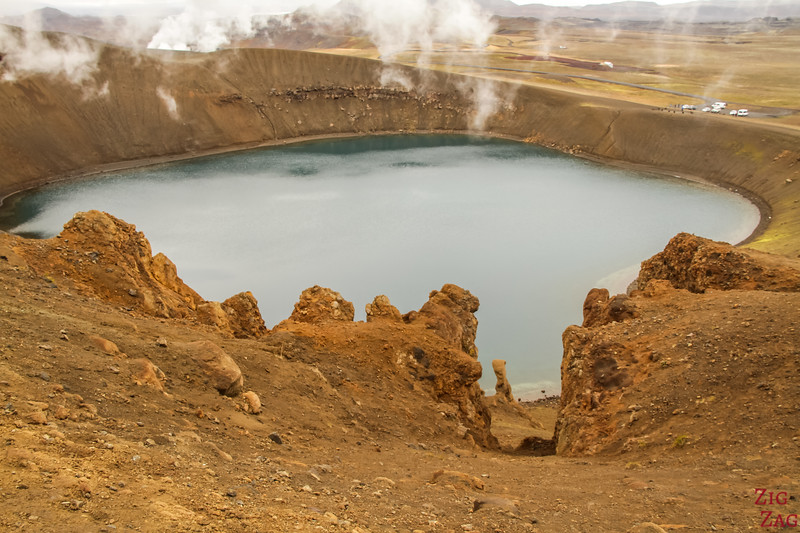 Krafla Viti Crater lake