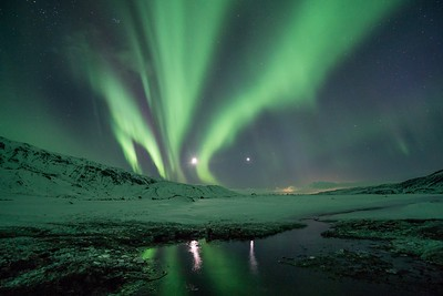 Northern Lights Iceland colors