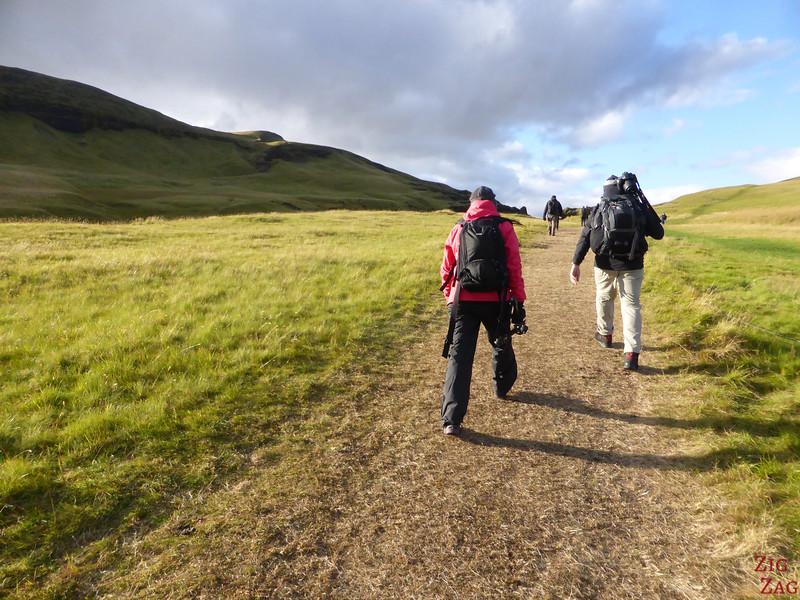 rando Canyon de Fjadrargljufur Iceland