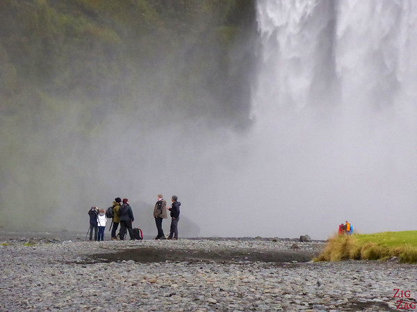 Skogafoss waterfall Iceland from up close 2