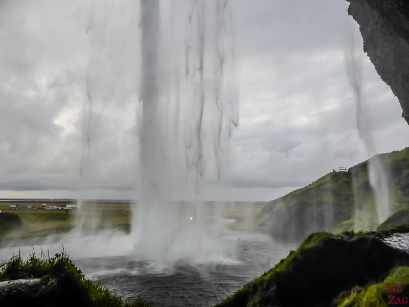 Waterfall of Seljalandfoss ICeland